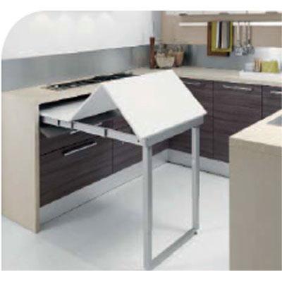 Dispositivo party per tavolo a c nobili ferramenta for Tavolo cucina con cassetto