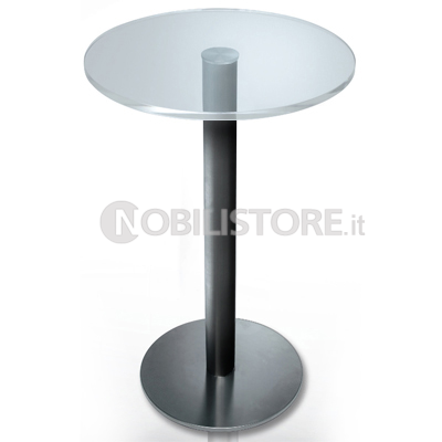 Base per tavolo BISTROT CRYSTAL � 80 mm base � 450 mm