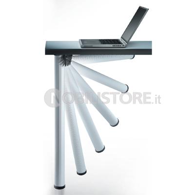 Gambe Regolabili Per Tavoli.Gambe Regolabili 656 Click O 50 Mm Nobili Ferramenta