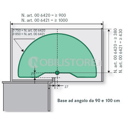Cerniere per ante ad angolo decorare la tua casa - Cerniere per ante cucina 180 gradi ...