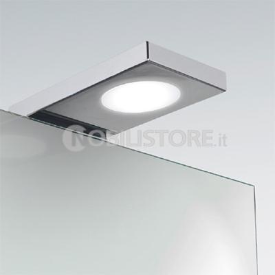 Illuminazione a led per bagno for Luci bagno design