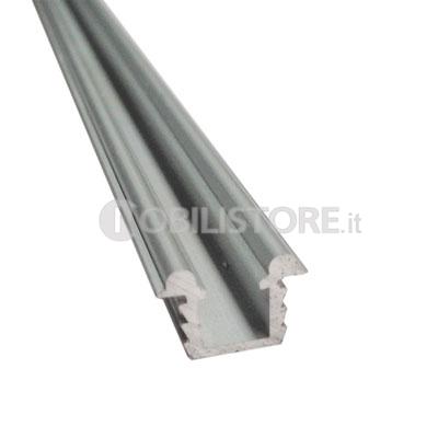 Binari Per Ante Scorrevoli In Vetro.Binario Scorribase Medio In Alluminio Nobili Ferramenta