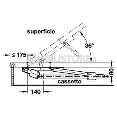 Ferramenta per letto contenitore canonseverywhere - Meccanismo per letto contenitore prezzi ...