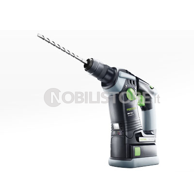 Martello perforatore a batteria Festool BHC 18 Li 5,2 Plus