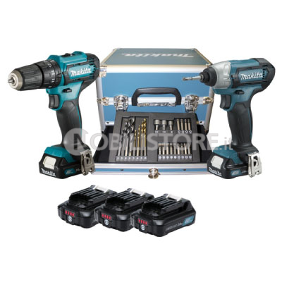 Kit Makita CLX228SAX2 Set avvitatori 12 V