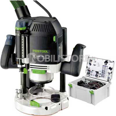 Fresatrice Festool OF 2200 EB-Set