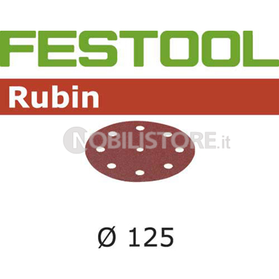 Disco abrasivo Festool Rubin 2 � 125 mm forato