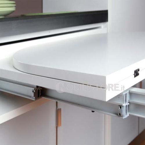 Dispositivo Brunch per tavolo a cassetto estraibile, piano 1080 mm ...