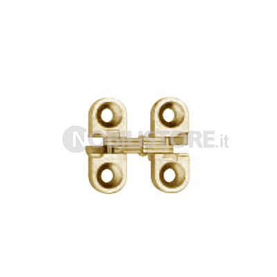Cerniera invisibile SOSS 100 - 25,4x9,5 mm