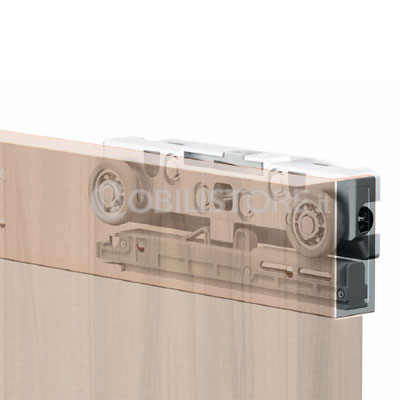 Sistema Magic2 per porta in legno