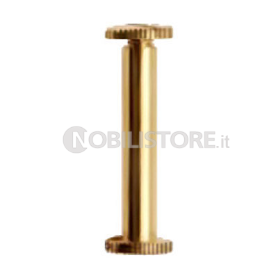 Vite per registri in ottone per fori � 5 mm